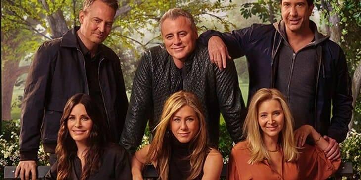 cast di Friends oggi