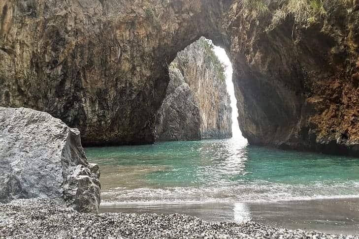 Arco Magno in Calabria,