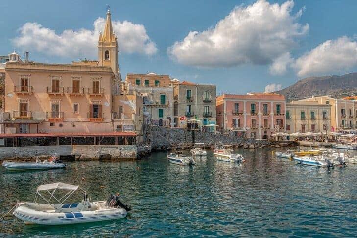 Lipari in Sicilia