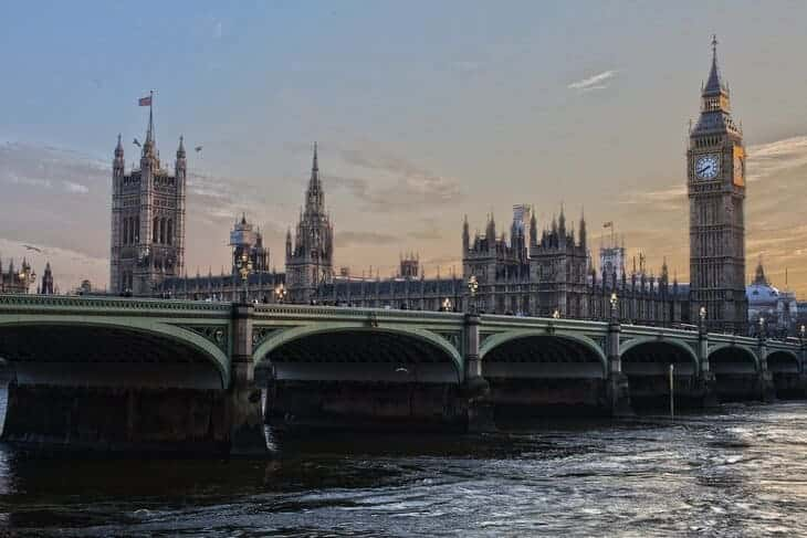 Londra, Westminster e il Big Ben.