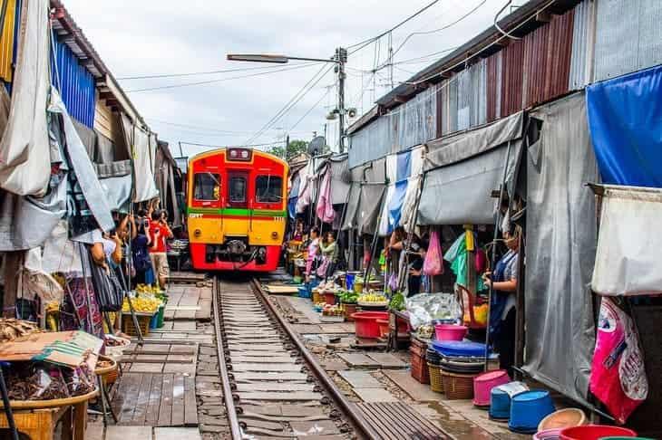 Il mercato di Bangkong