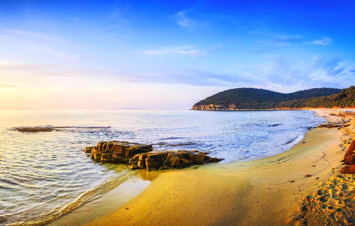 La spiaggia musicale