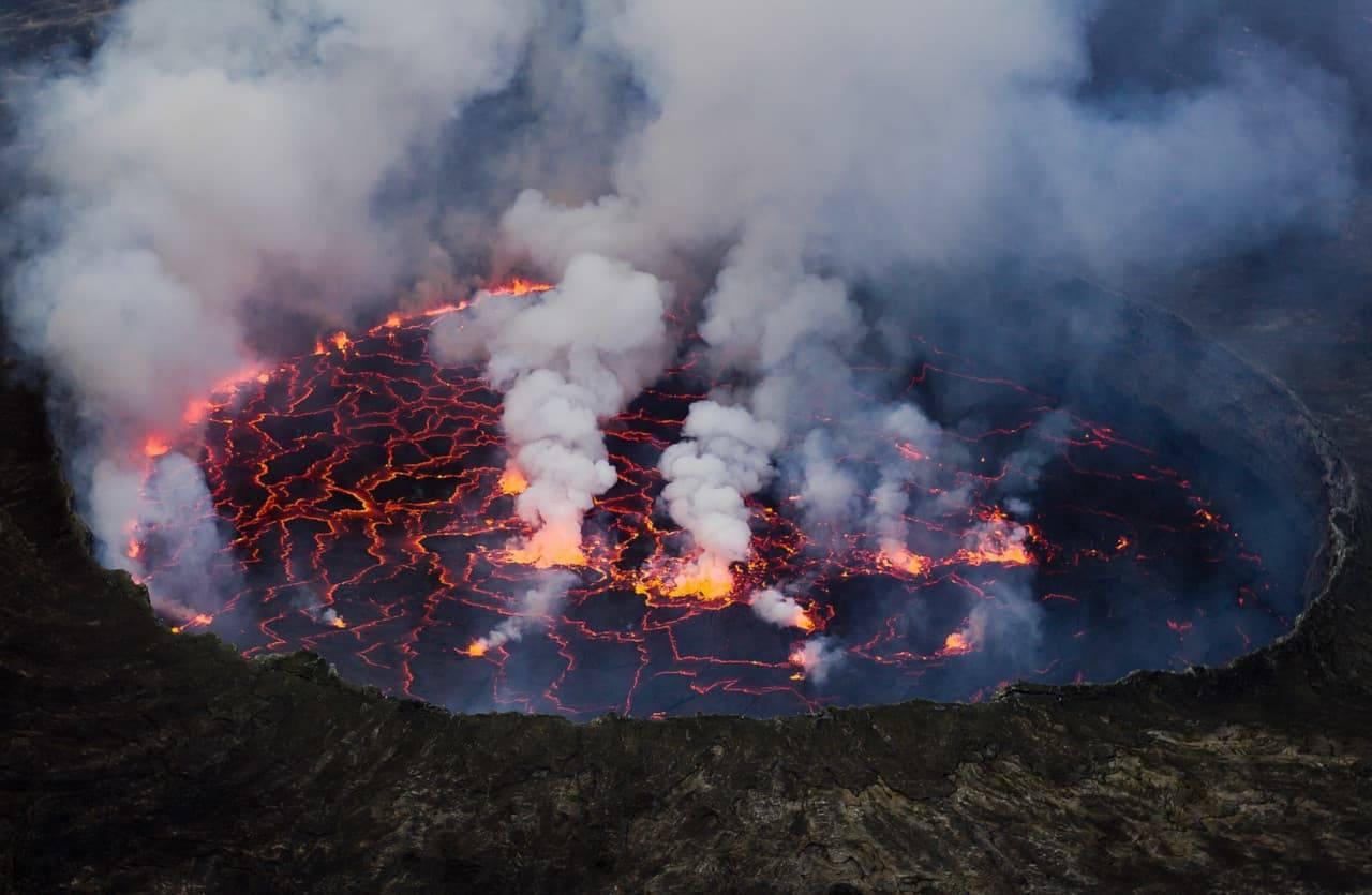congo eruzione vulcano