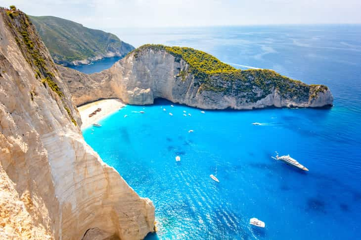 grecia spagna mare isole
