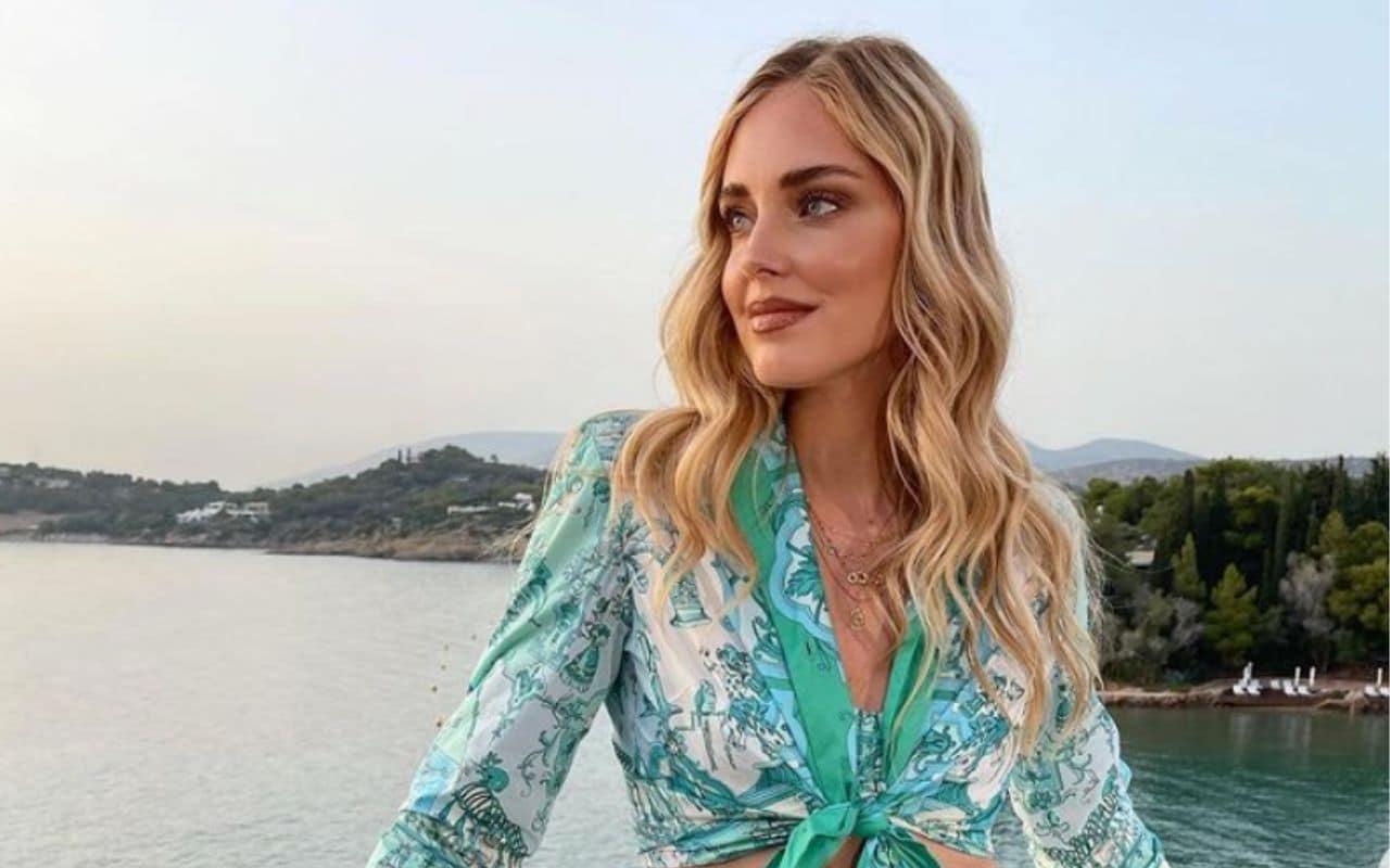 Chiara Ferragni va in Grecia