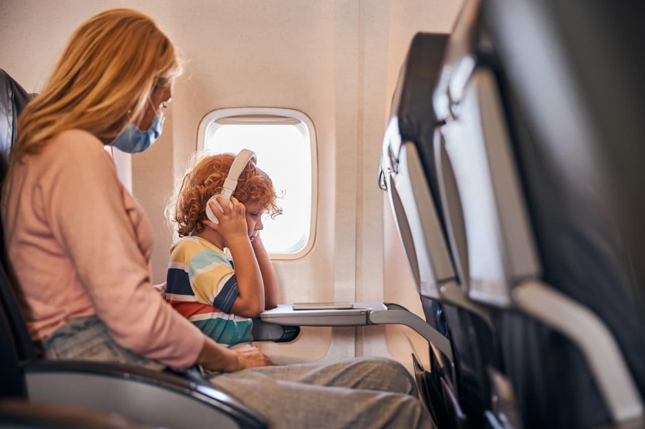 viaggiare vicino figlio
