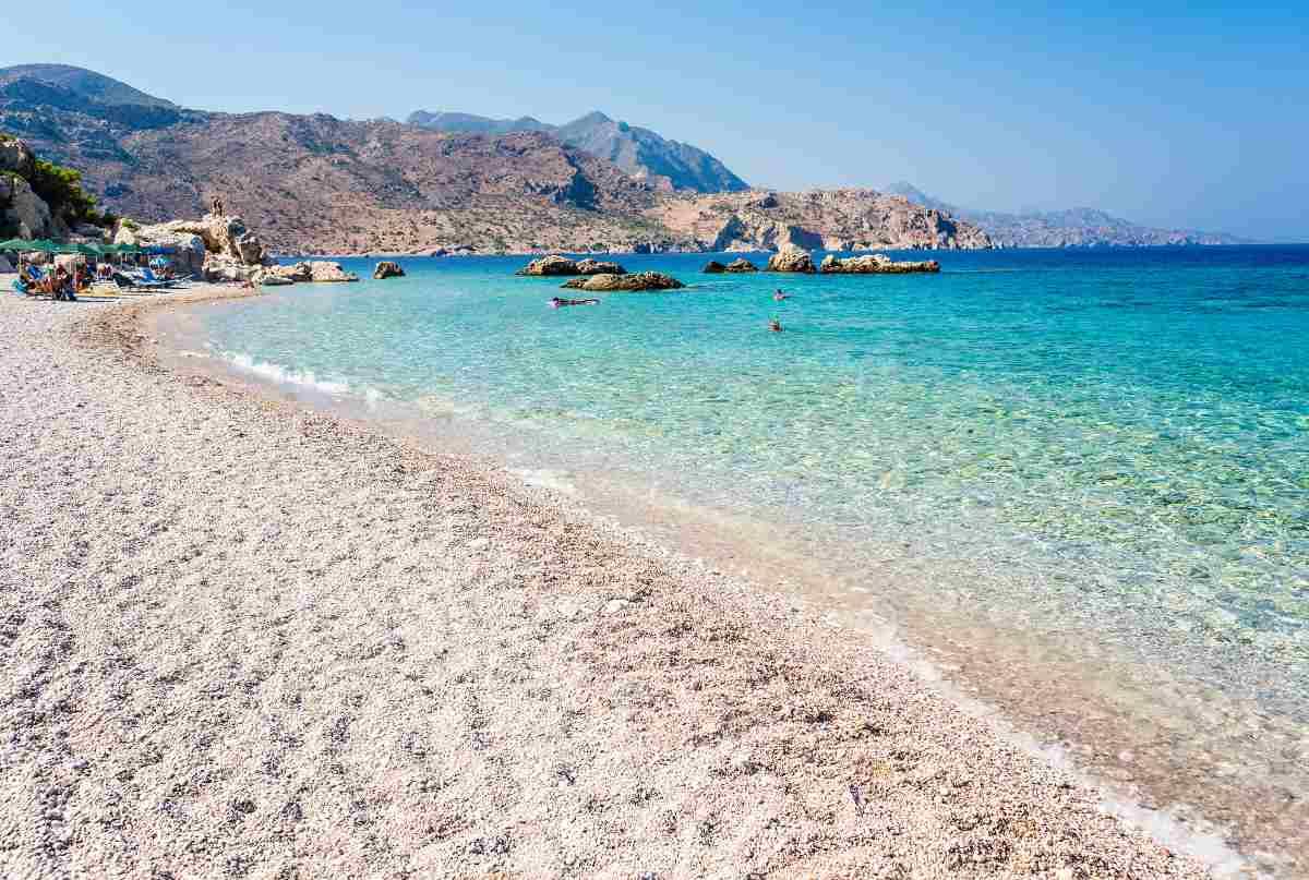 Questo è il mare più bello della Grecia