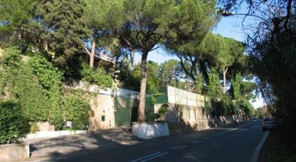 Via della Camilluccia dove vive Renato Zero