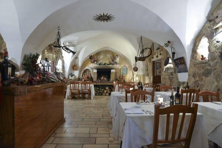 ristorante Don Carmelo alle Tenute Carrisi