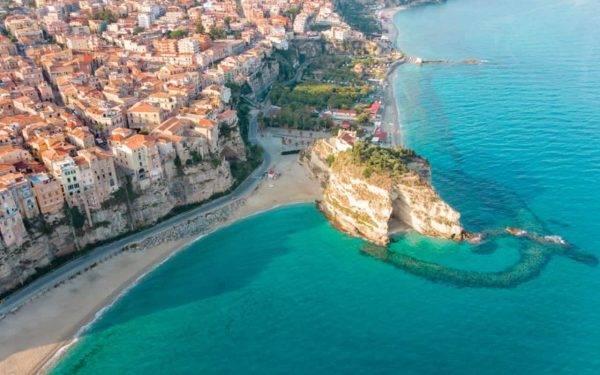 Spiaggia della Rotonda Tropea