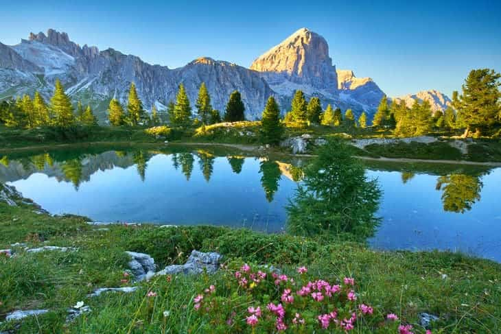 montagna in estate