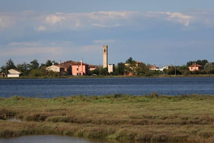 laguna di Venezia ciclabile
