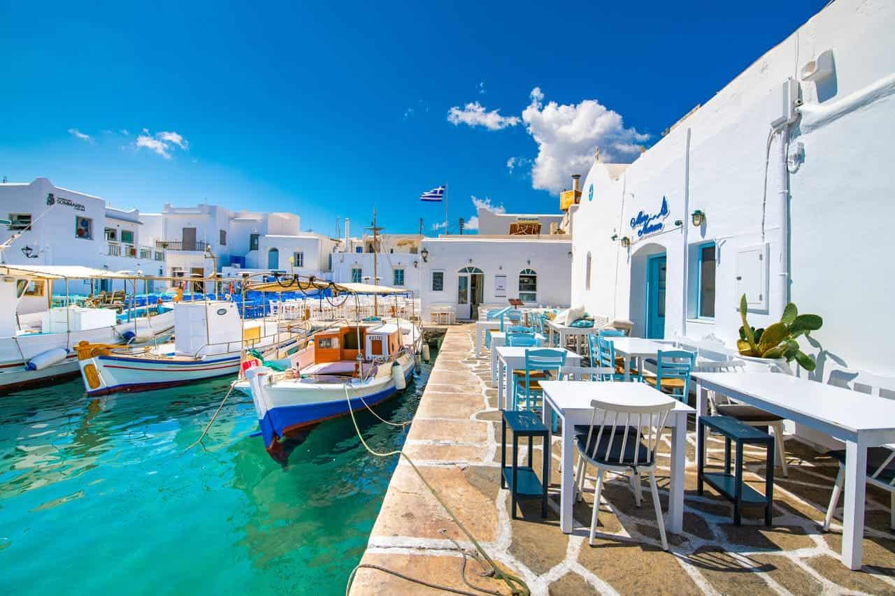 paros spiagge grecia