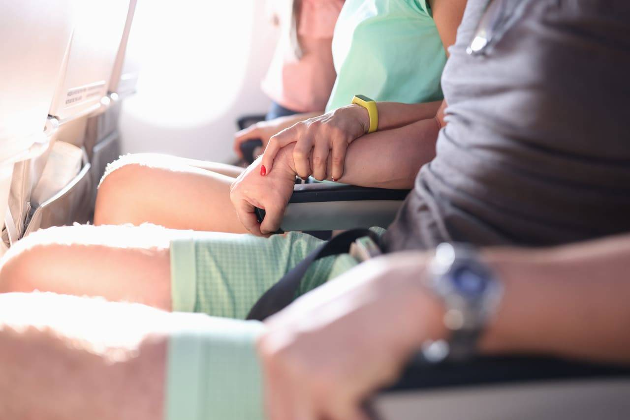 superare paura di volare