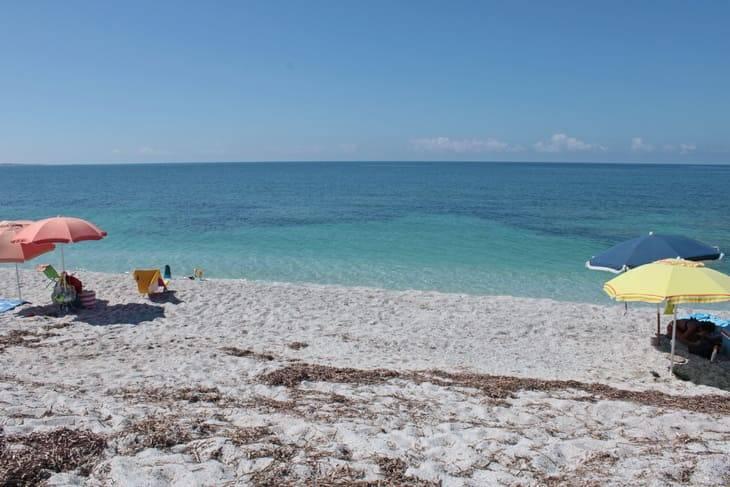 spiaggia di Mari Ermi sardegna