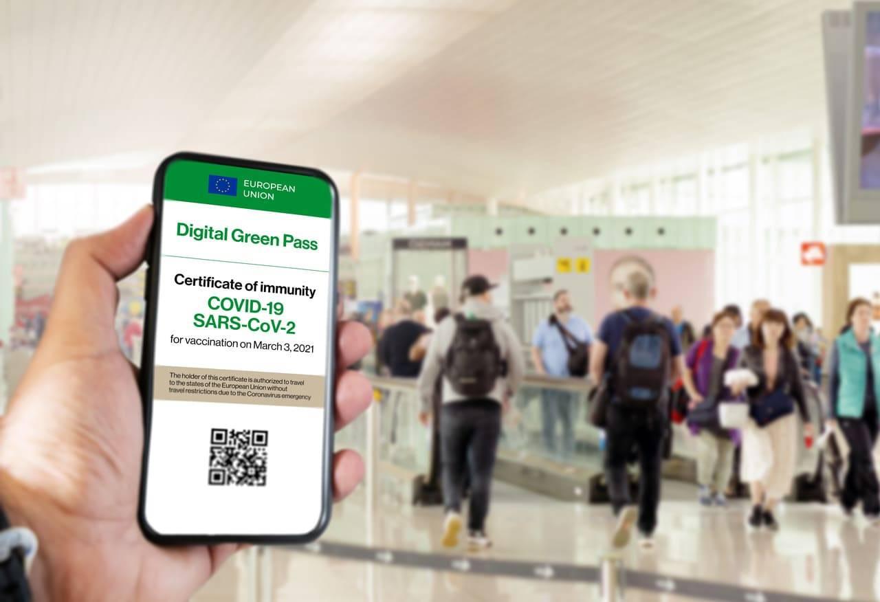green pass per viaggiare in italia