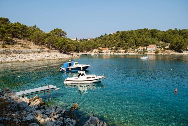 lussino isola delfini croazia spiagge