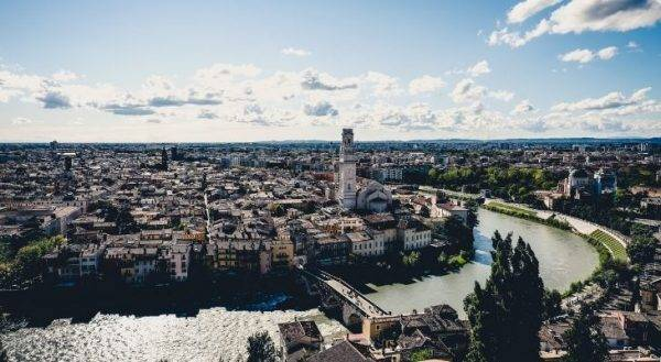 Verona città di Federica Pellegrini