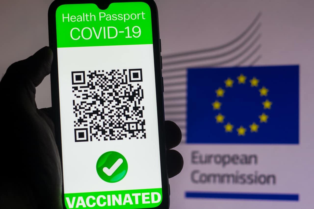 green pass europeo in vigore