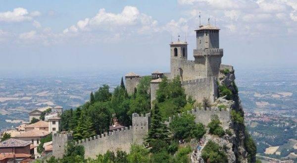 San Marino è tra i Paesi meno visitati del mondo