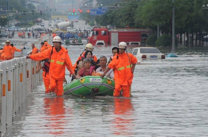 Henan, gravissima inondazione