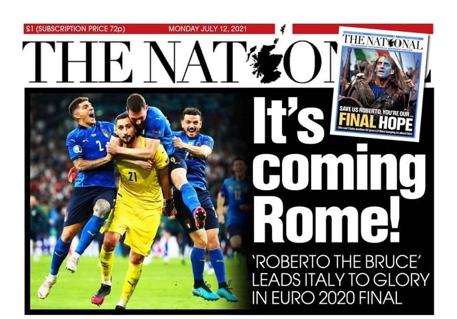 festeggiamenti per euro 2020 italia nel mondo