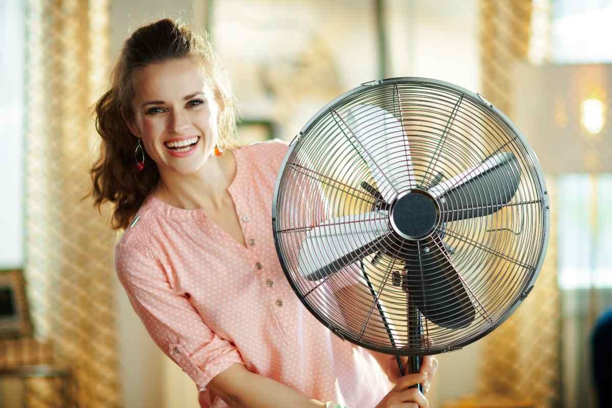 Meglio non usare il ventilatore di notte
