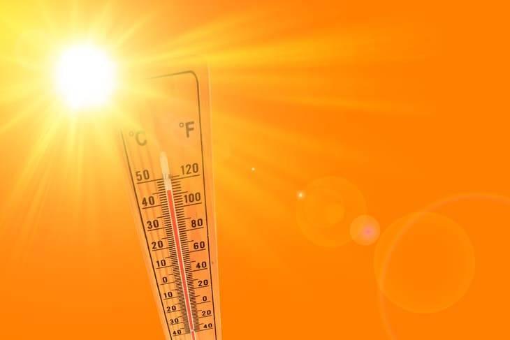 dove fa più caldo italia