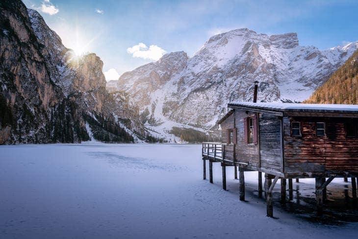 lago più bello Italia