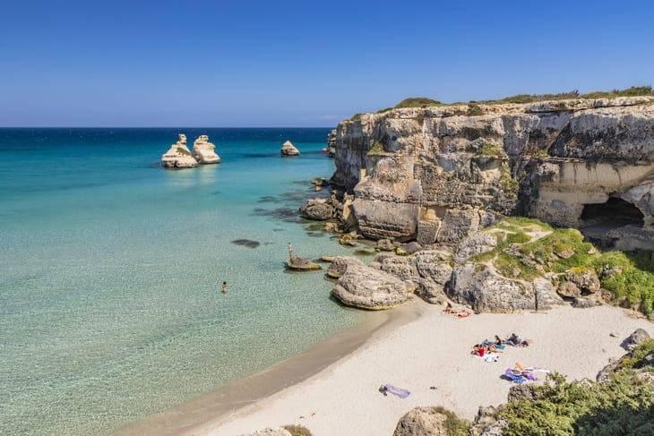 dove fare il bagno in Puglia