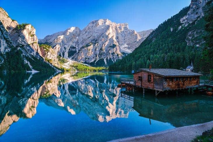 lago braies bello