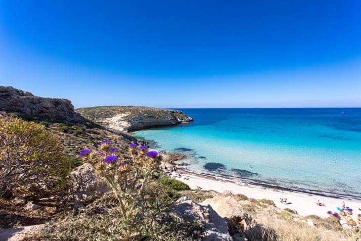 zone di mare bello in Sicilia