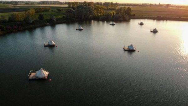Campeggio sull'acqua Belgio