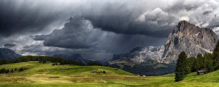 temporale montagna