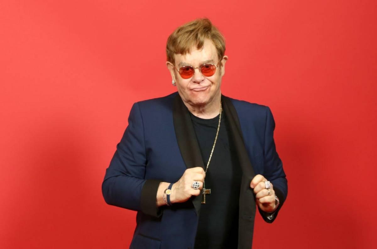 Elton John a Portofino