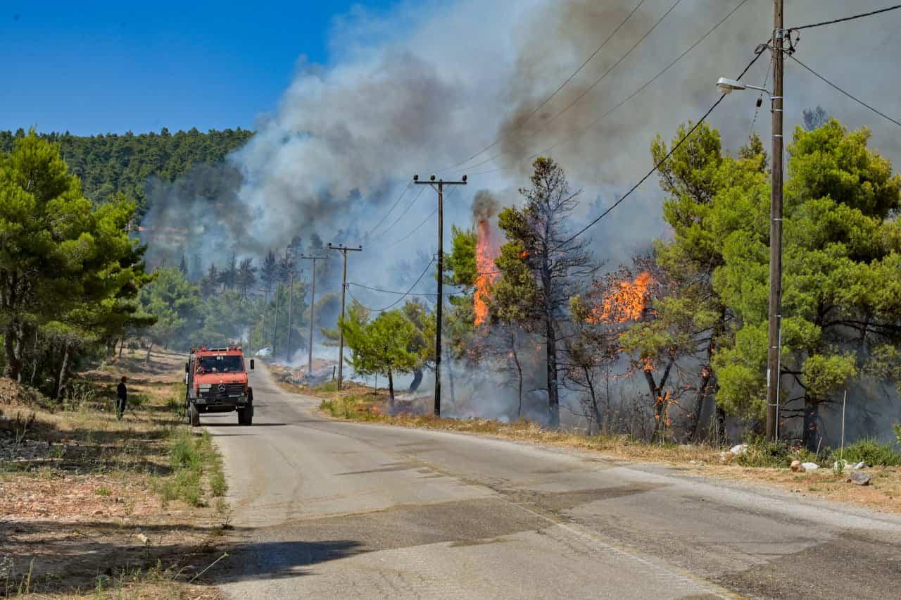 grecia incendi atene