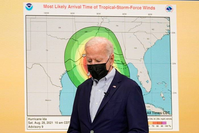 Uragano Ida, il Presidente Biden organizza i soccorsi