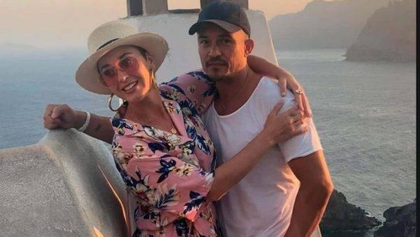 Katy Perry e Orlando Bloom a Capri