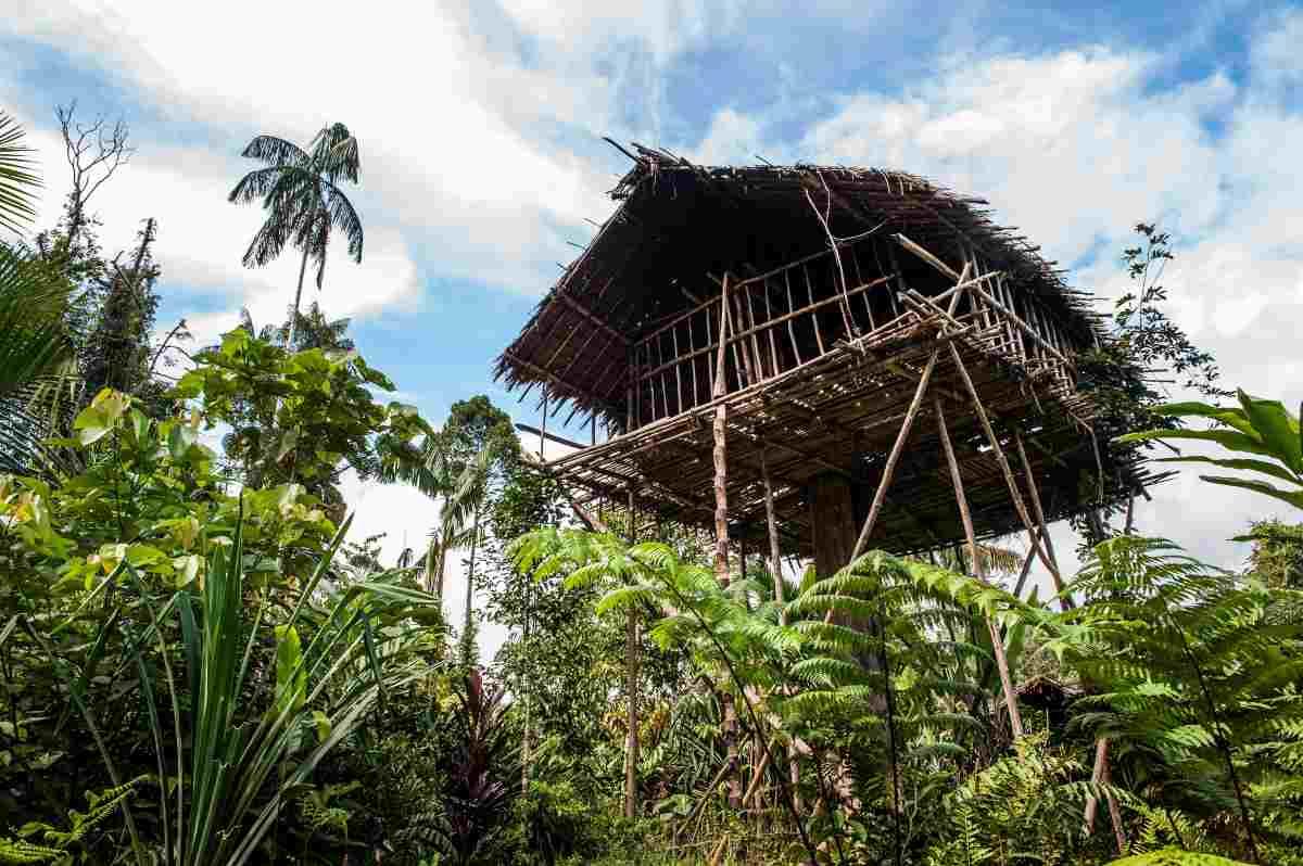 Alla scoperta della popolazione di Korowai