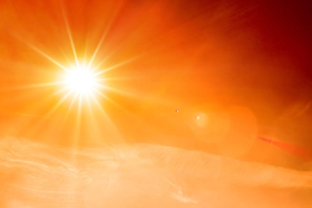 meteo 9 agosto caldo record