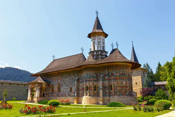 monastero voronet