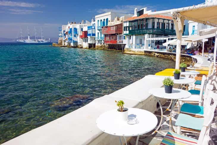 grecia ad ottobre isole