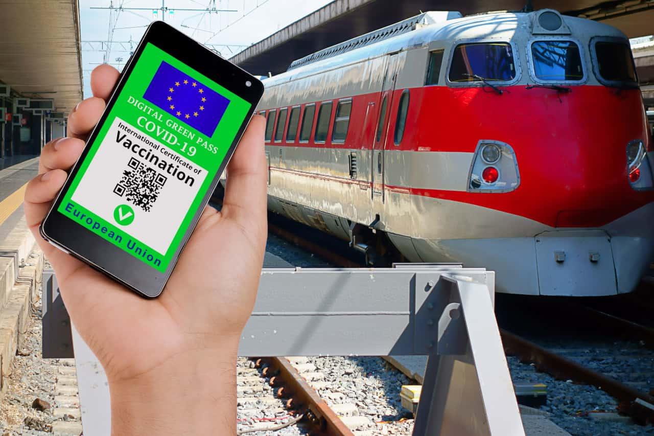 green pass treni