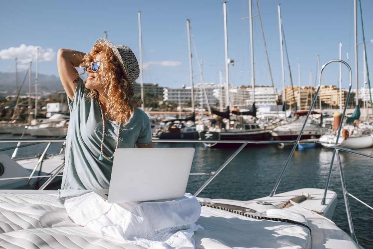 Smart Working in vacanza a settembre