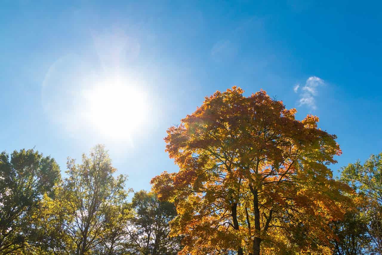 meteo autunno estate