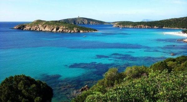 Tuerredda una delle spiagge più riparate della Sardegna