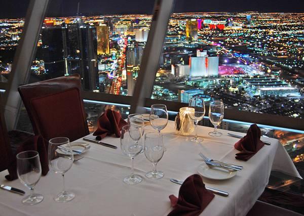 Il ristorante nella stratosfera