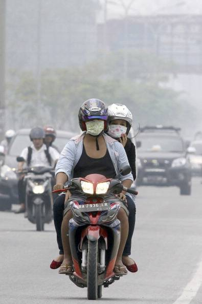 INDONESIA-HEALTH-ENVIRONMENT-POLLUTION-HAZE