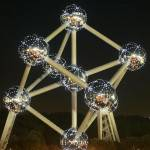Refurbished Atomium in Brussels