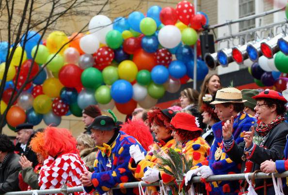 Traditional Carnival In Hesse And Rhine Area